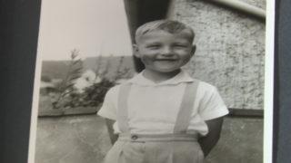 Steinmeier for President (Foto: Der kleine Frank-Walter im Familienalbum verewigt.)