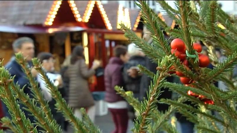 Erster Weihnachtsmarkt eröffnet (Foto: SAT.1 NRW)