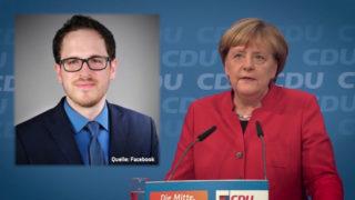 AfD-Polizist soll Merkel beleidigt haben (Foto: SAT.1 NRW)