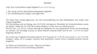 Falsche Abschiebe-Briefe (Foto: SAT.1 NRW)