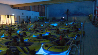 Kino im Schwimmbad (Foto: SAT.1 NRW)