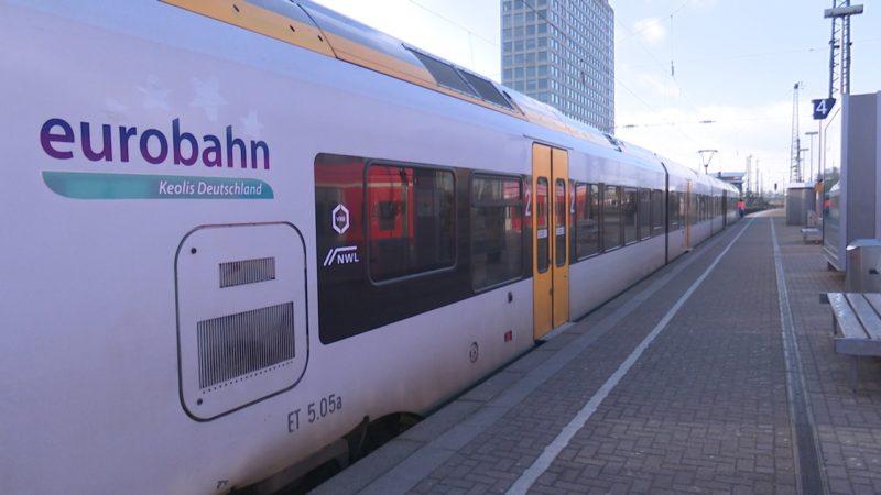 Eurobahner streiken weiter (Foto: SAT.1 NRW)