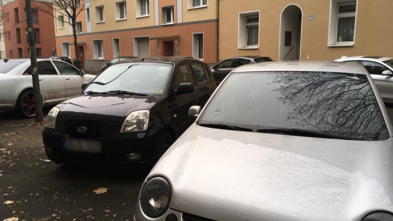 Parkplatz-Ärger (Foto: SAT.1 NRW)