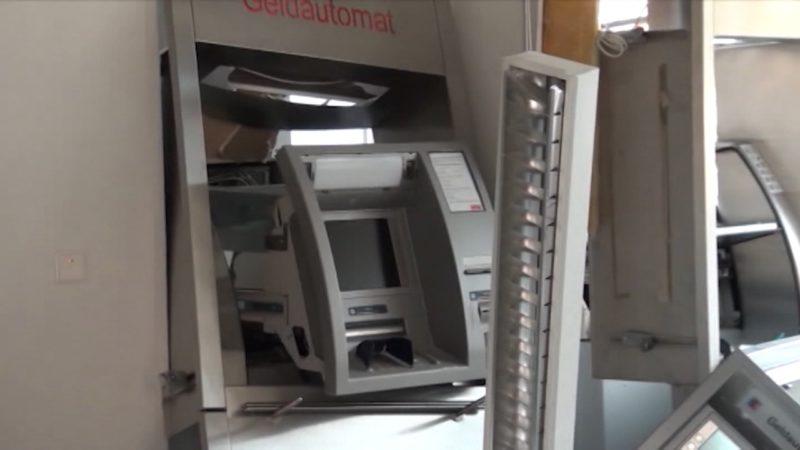Zeuge filmt Automaten-Sprengung (Foto: SAT.1 NRW)