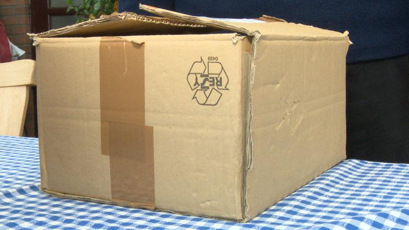 Keks-Paket sorgt für Großeinsatz (Foto: SAT.1 NRW)