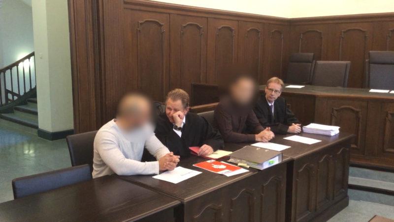 Prozess gegen Polizisten (Foto: Michael Engelberg)
