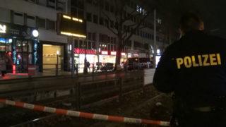 Polizist von Straßenbahn überrollt (Foto: Thomas Kraus)