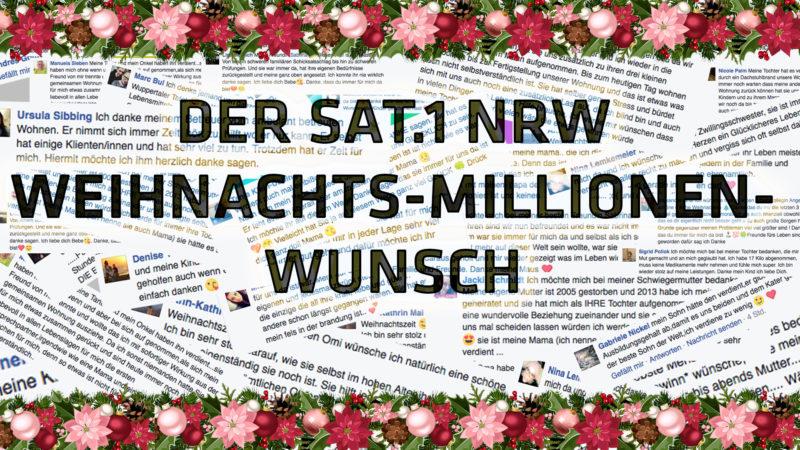 Lottoschein-Gewinner (Foto: SAT.1 NRW)