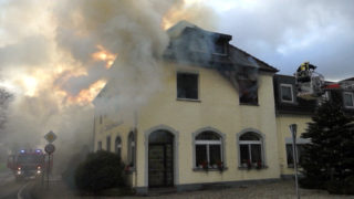 Feuer in Altenheim (Foto: TeleNewsNetwork)