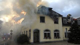 Feuer in Altenheim (Foto: TeleNewsNetwork)
