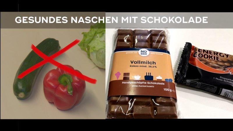 Gesundes Naschen auf Süßwarenmesse (Foto: SAT.1 NRW)