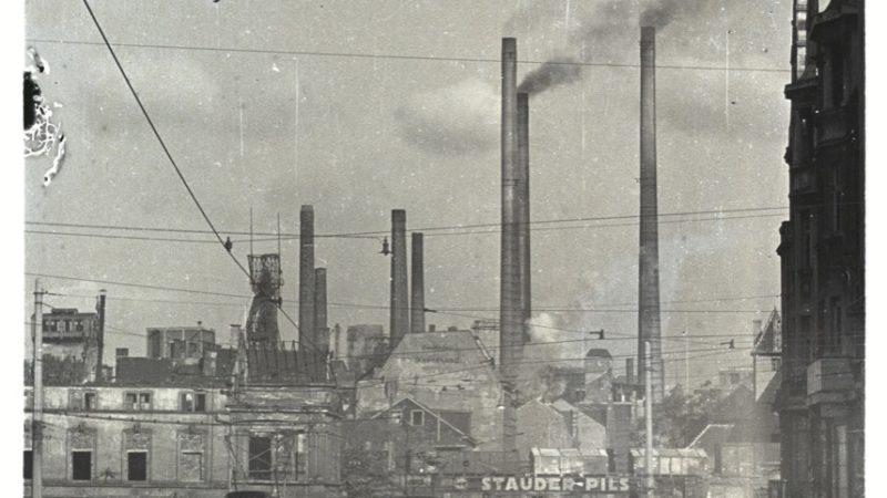 Alltag im Ruhrgebiet 1947.  Quelle: Pressebilderdienst C.C. Stachscheid (Foto: SAT.1 NRW)