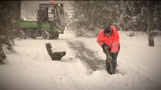 Was muss ich bei Schnee tun? (Foto: SAT.1 NRW)