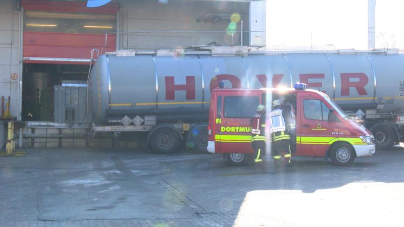 Unfall bei Tankreinigung (Foto: SAT.1 NRW)