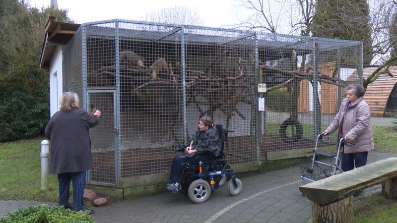 Zoo im Altersheim (Foto: SAT.1 NRW)