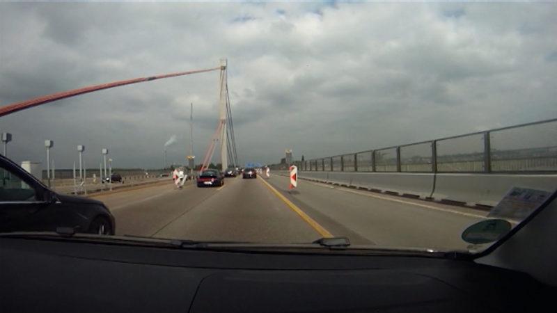 Bau der Leverkusener Brücke darf starten (Foto: SAT.1 NRW)