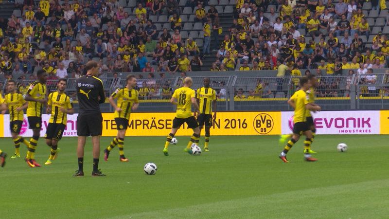 BVB akzeptiert DFB-Strafe (Foto: SAT.1 NRW)