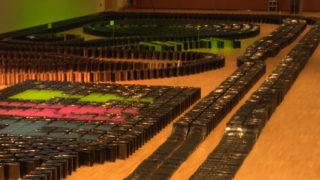 Rekord in CD-Domino (Foto: SAT.1 NRW)