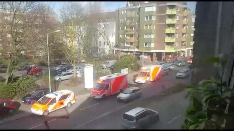 Frau in Duisburg getötet (Foto: SAT.1 NRW)