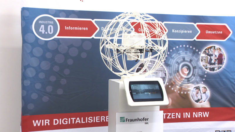Elektrotechnik Messe Dortmund (Foto: SAT.1 NRW)