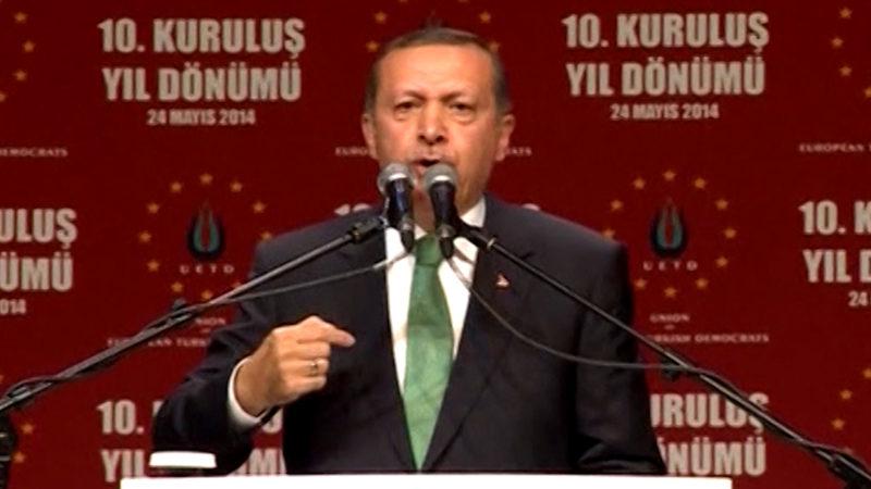 Erdogan kommt nach Köln - Die Polizei bereitet einen Großeinsatz vor (Foto: SAT.1 NRW)