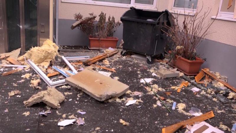 Explosion offenbart Drogenlabor (Foto: SAT.1 NRW)