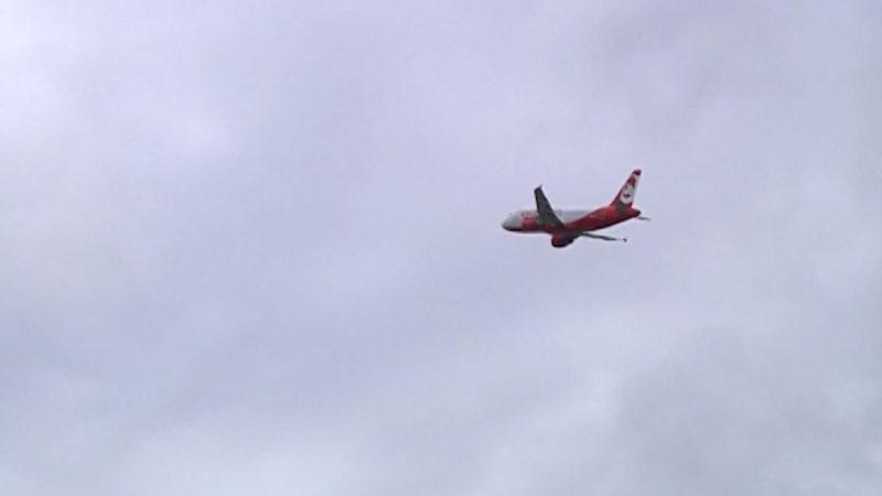 Bürger gegen Flughafenerweiterung (Foto: SAT.1 NRW)