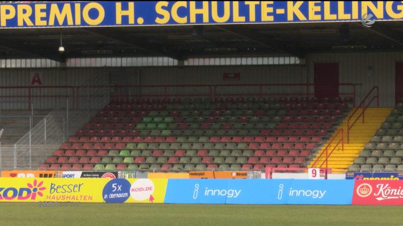 Fußballspiel wird abgesagt (Foto: SAT.1 NRW)