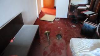 Hotel von Kindern und Jugendlichen verwüstet (Foto: SAT.1 NRW)