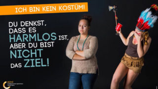 """Kampagne """"Ich bin kein Kostüm"""" (Foto: SAT.1 NRW)"""