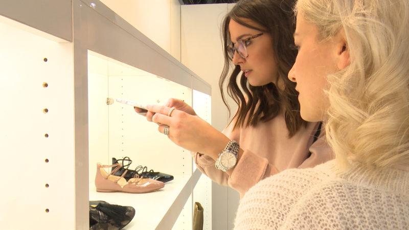 Schuhe werden zu Instagram-Stars (Foto: SAT.1 NRW)