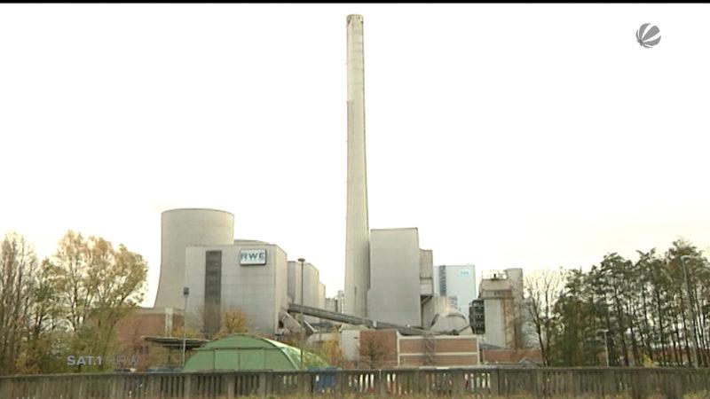 Halbes Kraftwerk zu verkaufen (Foto: SAT.1 NRW)