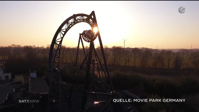 Movie Park Germany präsentiert Star Trek Achterbahn (Foto: SAT.1 NRW)