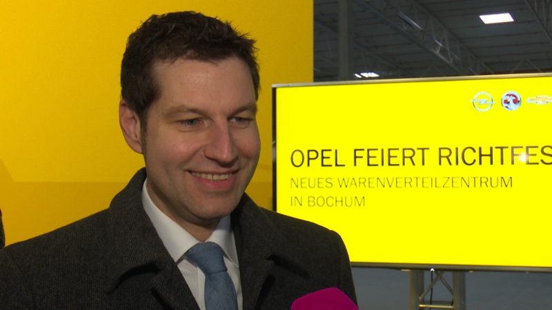 Opel-Richtfest (Foto: SAT.1 NRW)