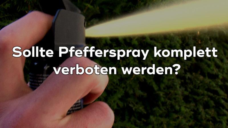 Pfefferspray in der Kritik (Foto: SAT.1 NRW)