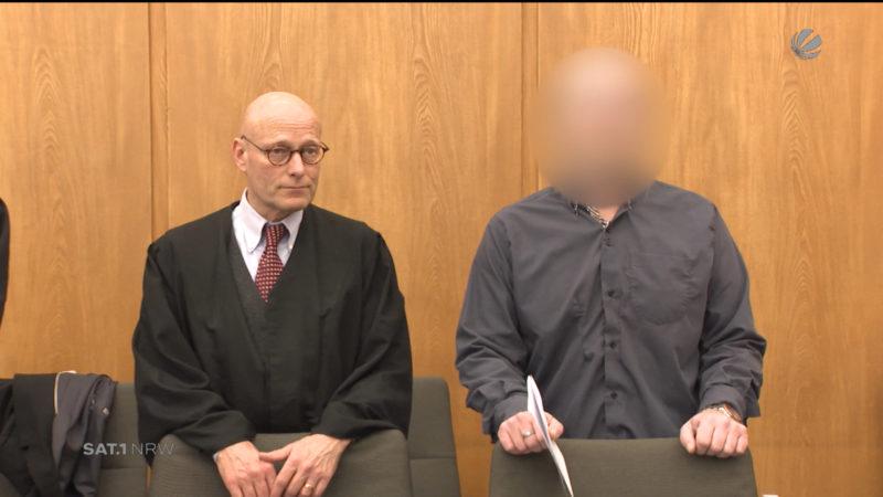 Leiche in Regentonne - Gerichtsprozess (Foto: SAT.1 NRW)