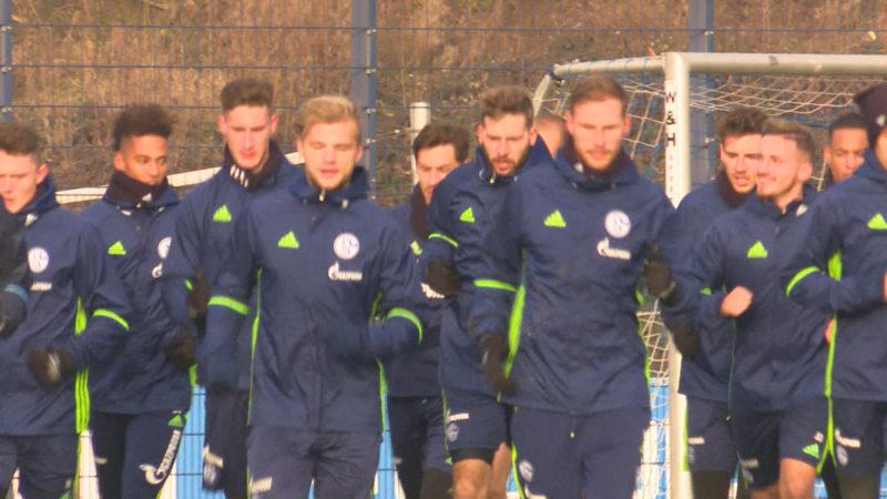 Schalke gegen Saloniki (Foto: SAT.1 NRW)