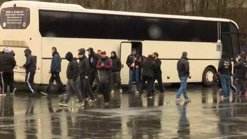 Schalke gegen Paok (Foto: SAT.1 NRW)