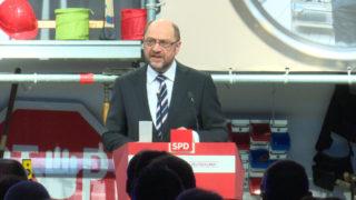 Martin Schulz will Korrekturen der Agenda 2010 (Foto: SAT.1 NRW)