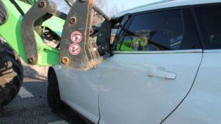 Unfall mit Traktor (Foto: SAT.1 NRW)