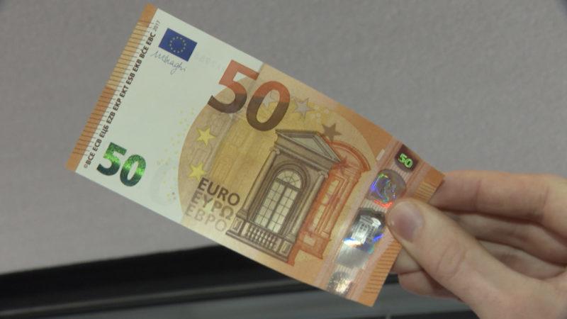 Neuer 50-Euro-Schein (Foto: SAT.1 NRW)