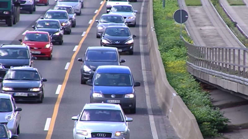 Ruhrtunnel gegen Dieselfahrverbot? (Foto: SAT.1 NRW)