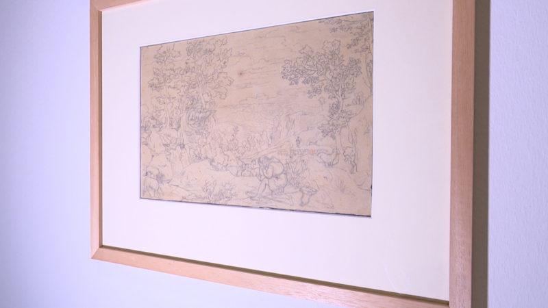 Ausstellung abgepauster Kunstwerke (Foto: SAT.1 NRW)