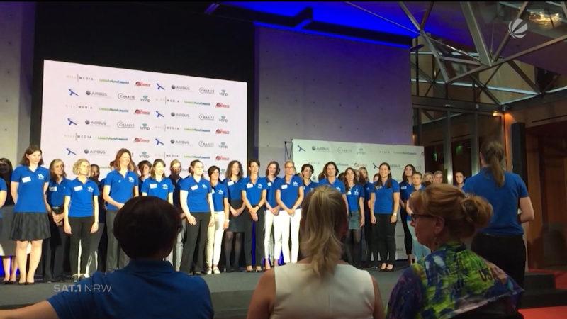 Astronautinnen-Casting (Foto: SAT.1 NRW)