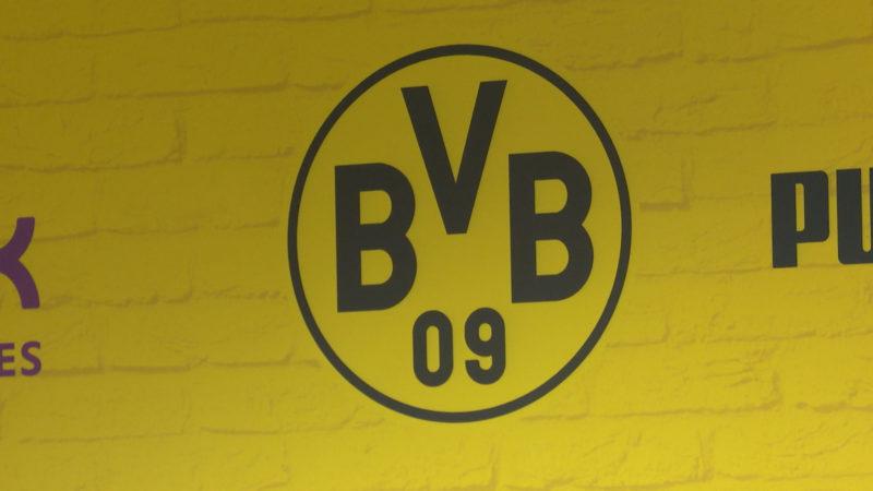 Dortmunder Pressekonferenz vor Derby (Foto: SAT.1 NRW)