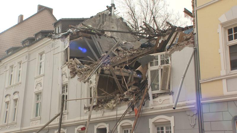 Explosion in Dortmund-Hörde (Foto: SAT.1 NRW)