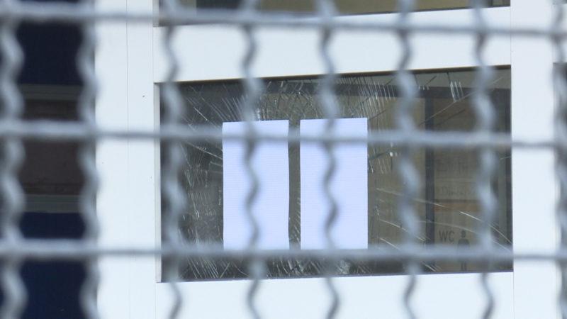 Randale im Flüchtlingsheim (Foto: SAT.1 NRW)