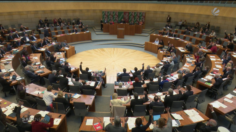 So lustig ist unser NRW-Landtag (Foto: SAT.1 NRW)
