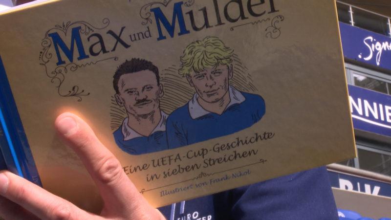Max und Mulder - ein Buch über die Eurofighter von Schalke (Foto: SAT.1 NRW)