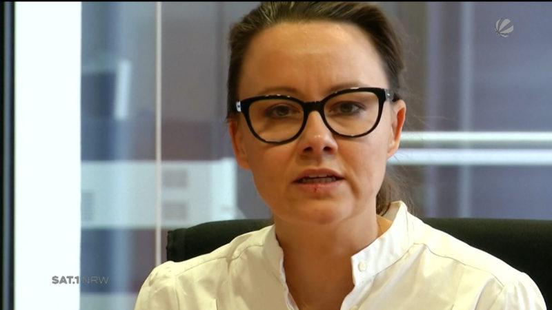 Michelle Müntefering äußert sich zum Spionage-Vorfall (Foto: SAT.1 NRW)